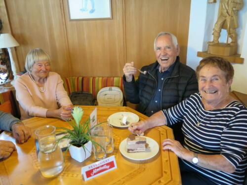 Club 85+ Ausflug für über 85jährige Bregenzer nach Bezau