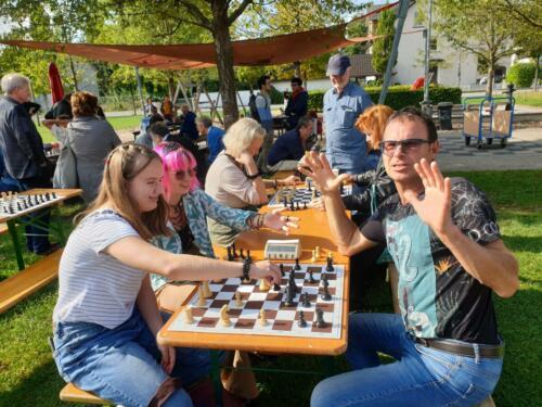 Schach im Park September 2021